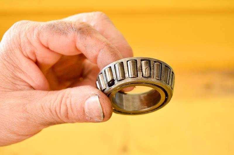bearings breakage