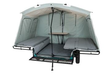 Inside Tent Trailer