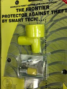 Anti-theft device for trailers, cars