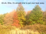 fall time to store boat trailer