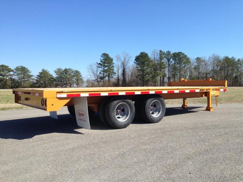 Econoline 18' tandem axle trailer
