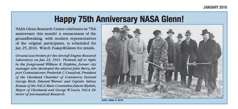 NASA Glenn Cleveland 2016