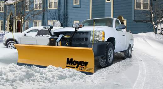 Meyer LotPro snowplow
