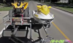 Two Jet Skis on Trailer